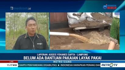 Warga Desa Rangai Tri Tunggal Mulai Bersihkan Sisa Banjir Bandang