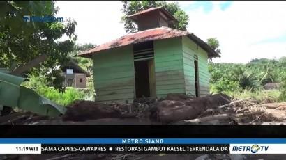 Satu Keluarga Jadi Korban Banjir Bandang di Tapanuli Selatan