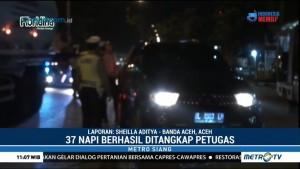 37 Napi Kabur dari Lapas Banda Aceh Berhasil Ditangkap
