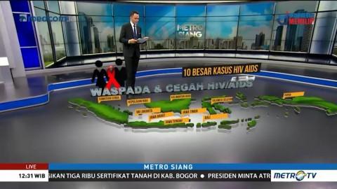 Data dan Fakta Persebaran HIV/AIDS di Indonesia