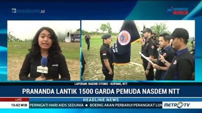 Prananda Paloh Lantik 1.500 Garda Pemuda NasDem NTT