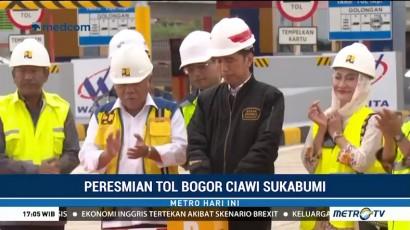Jokowi Resmikan Tol Bogor-Ciawi-Sukabumi Seksi I