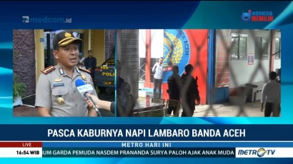 35 Napi Lapas Lambaro Aceh yang Kabur Kembali Ditangkap