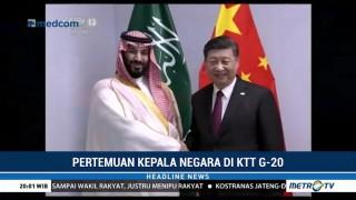 Presiden Tiongkok Bertemu Pangeran Arab Saudi