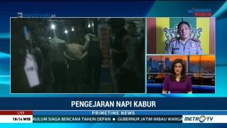 Polisi Terus Kejar 78 Napi Lapas Lambaro yang Kabur