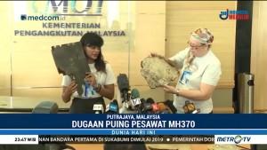 Puing Diduga Milik Pesawat MH370 Ditemukan di Madagaskar