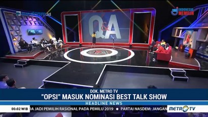 Metro TV Masuk Nominasi Asian TV Awards 2018