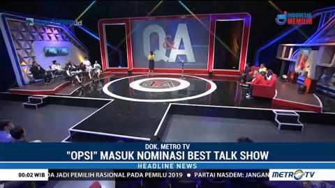 Metro TV Masuk Nominasi Asian TV Awards 2018