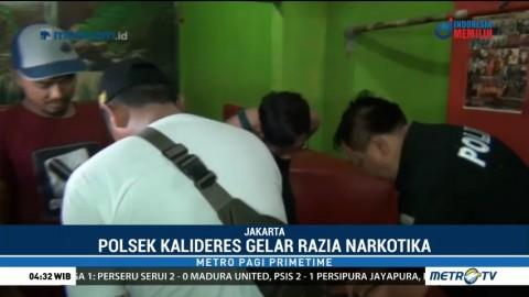 Polsek Kalideres Gelar Razia Narkoba, Lima Orang Diamankan