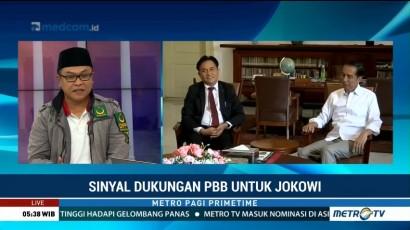 Sinyal Dukungan PBB untuk Jokowi-Ma'ruf