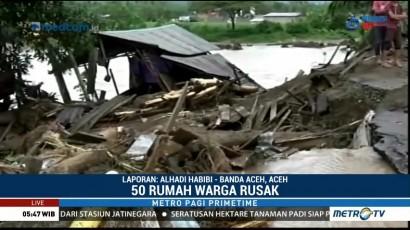 Banjir Bandang di Aceh Tenggara, 50 Rumah Warga Rusak