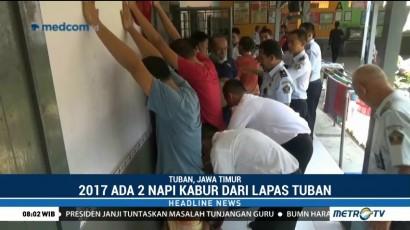 Sidak Lapas Tuban, Polisi Temukan Senjata Tajam