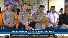 Gudang Logistik KPU Langkat Dibobol Maling, Ribuan Bilik Suara Raib