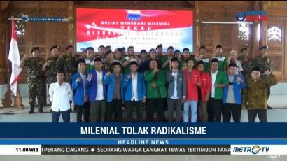 Ribuan Anak Muda di Tuban Gelar Deklarasi Tolak Radikalisme