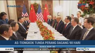 AS-Tiongkok Tunda Perang Dagang Selama 90 Hari