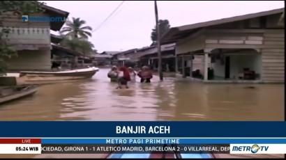 Luapan Sungai Soraya Merendam Ribuan Rumah di Kota Subulussalam
