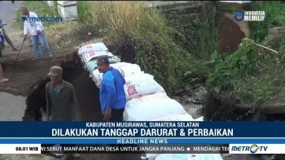 Jalan Lintas Provinsi di Kabupaten Musi Rawas Ambles
