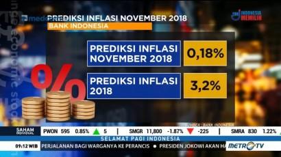 BI Prediksi Inflasi November 0,18 Persen