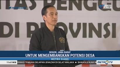 Jokowi Minta Dana Desa Dimanfaatkan untuk Kembangkan Potensi Desa