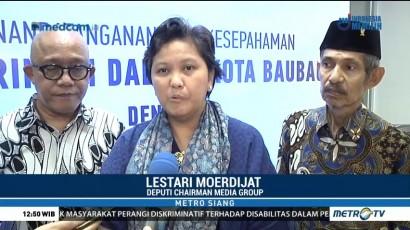 Pemda Baubau dengan Media Group Tandatangani MoU