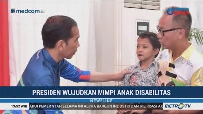 Keinginan Adul Bertemu Jokowi Terwujud