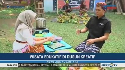 Wisata Edukatif di Dusun Kreatif
