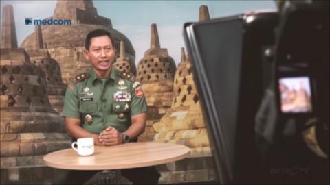Saat Pangdam IV/Diponegoro Ditantang Menjadi Pembawa Berita