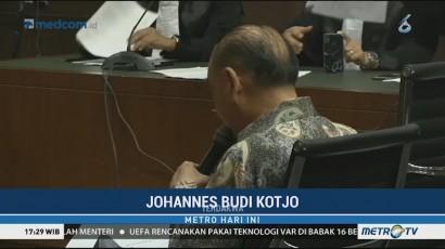 Bacakan Pledoi, Johanes B Kotjo Mengaku Menyesal
