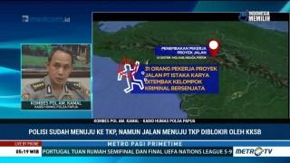 Keterangan Polisi Terkait Pembunuhan 31 Pekerja Jembatan di Papua