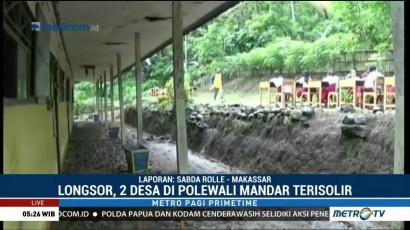 Dua Desa di Polewali Mandar Terisolir Akibat Longsor