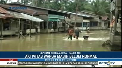 Aktivitas Warga di Kota Subulussalam Belum Normal Meski Banjir Surut