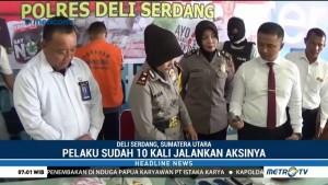 Polisi Tangkap Kurir Sabu di Bandara Kualanamu