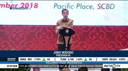 Jokowi: Hilirisasi Industri Mutlak Dilakukan