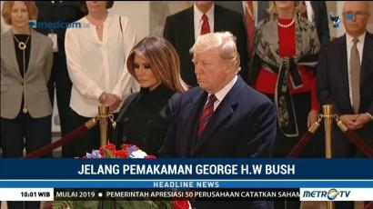 Trump akan Hadiri Upacara Kenegaraan di National Catedral