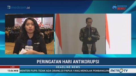 Jokowi Buka Peringatan Hari Antikorupsi Sedunia 2018 di Jakarta