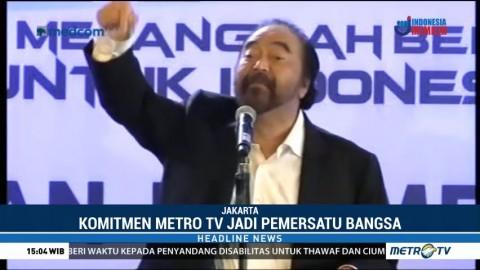 Metro TV Gelar Syukuran HUT ke-18