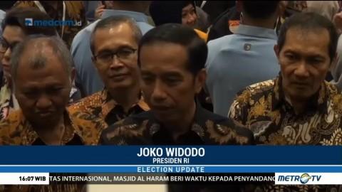 Jokowi Tolak Politisasi Isu Korupsi