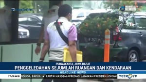KPK Geledah Kantor Perum Jasa Tirta II Purwakarta