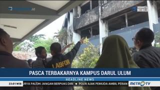 Tim Labfor Selidiki Kebakaran di Universitas Darul Ulum