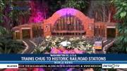 Trains Chug to Historic Railroad Stations