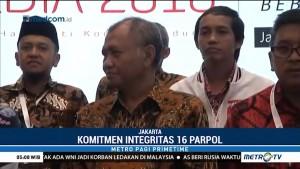 KPK Minta Pimpinan Parpol Komitmen Membangun Integritas