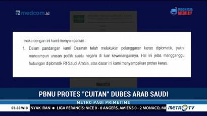 PBNU Protes Cuitan Dubes Arab Saudi