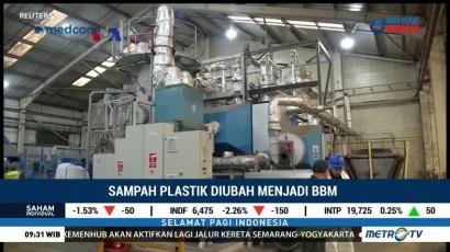 Teknologi Mengubah Sampah Plastik Jadi BBM