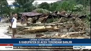 Enam Kabupaten di Aceh Dilanda Banjir & Longsor