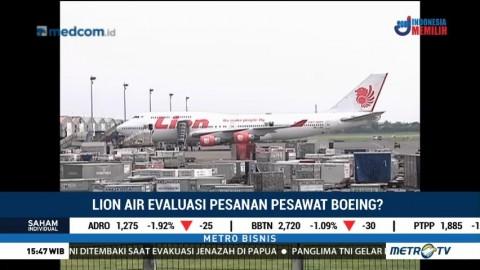 Lion Air Evaluasi Pesanan Pesawat Boeing?