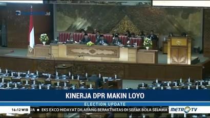 Kinerja DPR Dinilai Makin Loyo