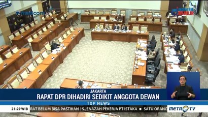 Kinerja Anggota DPR Lemah