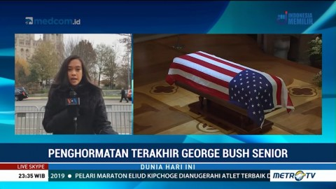 Misa Pemakaman George Bush Senior