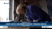 Court Artist Documents History Through Sketches