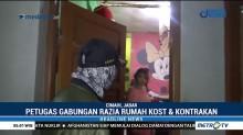 Petugas Gabungan Gelar Razia Penyakit Masyarakat di Cimahi